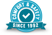 Comfort & Safety Badge